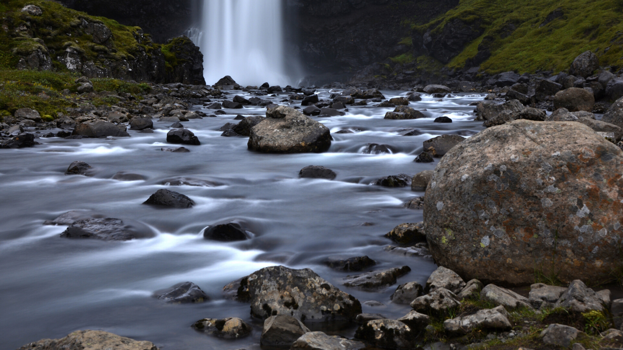 Rocks in a Stream I will quietly resist